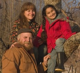 Nancy, Michael and Gracie Phillips: Heartsong Farm family tree (photo: Frank Siteman)