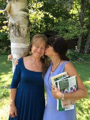 Nancy Phillips and Rosemary Gladstar -- Herbalist friends forever!