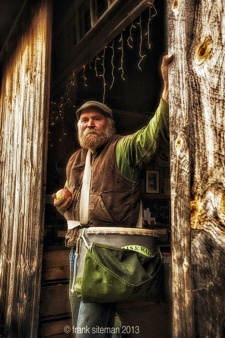 Michael Phillips: Holistic Orchardist of Heartsong Farm -- photo by Frank Siteman
