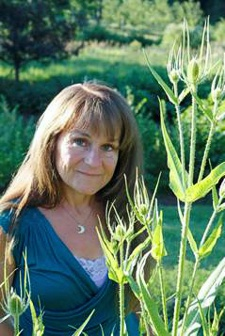 Nancy Phillips: Village Herbalist of Heartsong Farm -- photo by Michael Phillips
