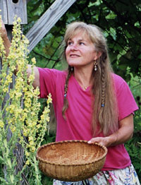 Nancy Phillips is an herbal practitioner, educator, and farmer (photo: Michael Phillips).